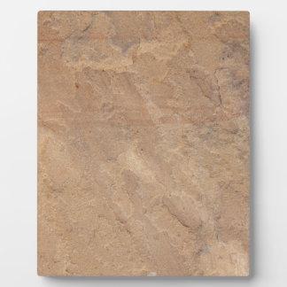 sandstone pattern plaque