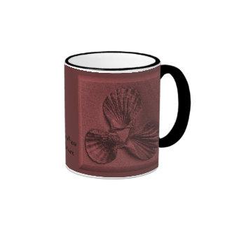 Sandstone Shell Ocean View Mug