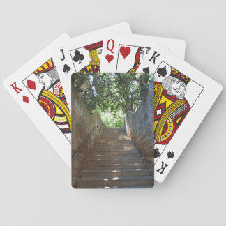 Sandstone Steps Playing Cards