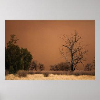 Sandstorm creating a lovely scene poster