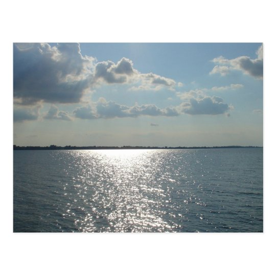 Sandusky Bay, Lake Erie Postcard