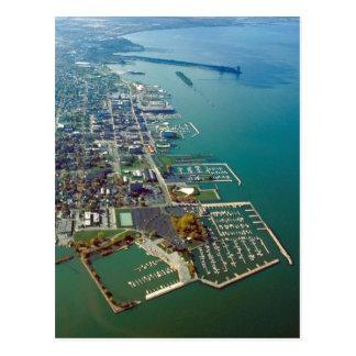 Sandusky Waterfront Postcard