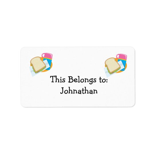 sandwich and lunch vector design label
