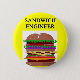 SANDWICH engineer joke 6 Cm Round Badge