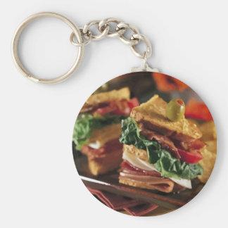 Sandwich Question Keychain