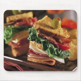 Sandwich Question Mousepad