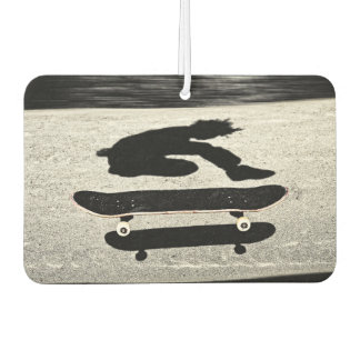 sandwiched skateboard car air freshener