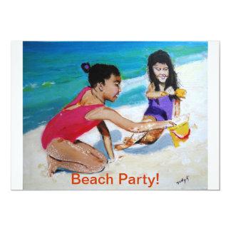Sandy and Sunny 13 Cm X 18 Cm Invitation Card