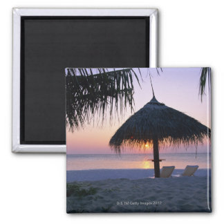 Sandy Beach 6 Fridge Magnets