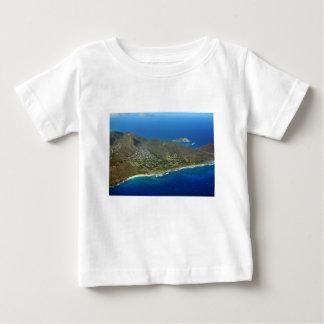 Sandy Beach Aerial Baby T-Shirt