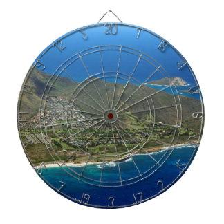 Sandy Beach Aerial Dartboard
