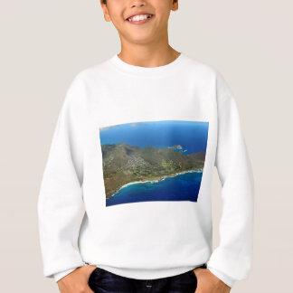 Sandy Beach Aerial Sweatshirt
