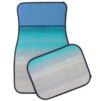 Sandy Beach Car Matts Car Mat