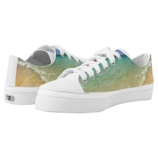 Sandy Beach Kicks Printed Shoes