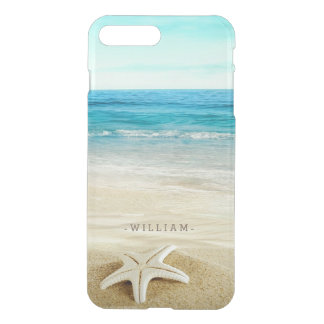 Sandy Beach Starfish iPhone 7 Plus Case