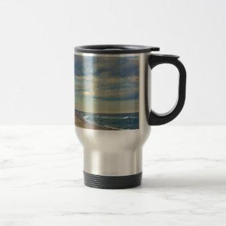 Sandy Beach Travel Mug
