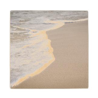 Sandy Beach Wood Coaster