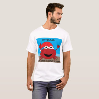 Sandy Claws Crab Funny Chrismtas Personalize T-Shirt