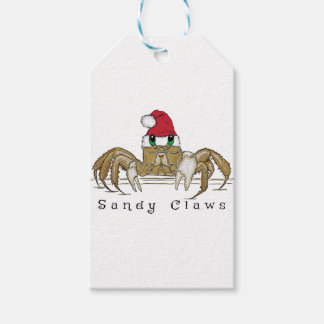 Sandy ClawsTrans Gift Tags
