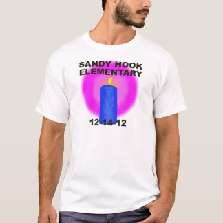 SANDY HOOK ELEMENTARY, candle T-Shirt