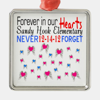 Sandy Hook Elementary Never Forget Ornament