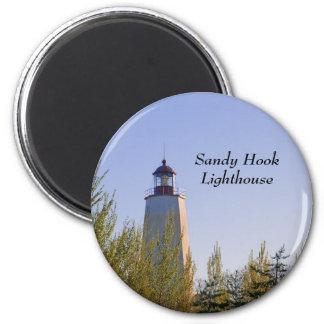 Sandy Hook III Lighthouse Magnet