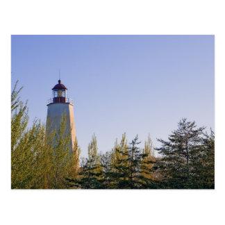 Sandy Hook III Lighthouse Postcard