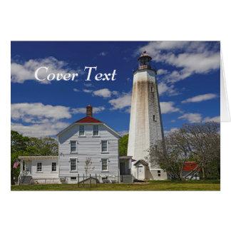 Sandy Hook Lighthouse Card