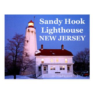 Sandy Hook Lighthouse, New Jersey Postcard