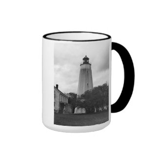 Sandy Hook Lighthouse Ringer Mug