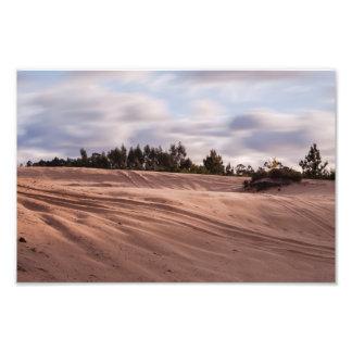 Sandy Landscape Photo Print