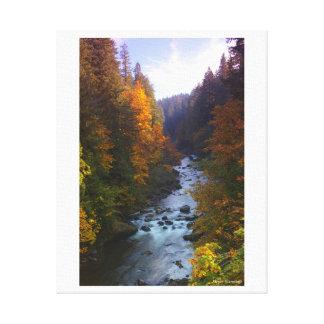 Sandy River, Oregon Canvas Print