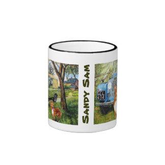 Sandy Sam Ringer Mug Coffee Mug