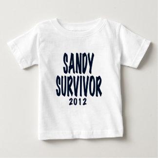 SANDY SURVIVOR 2012, black,Sandy survivor gifts T-shirt