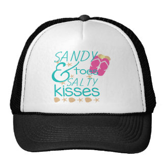 Sandy Toes and Salty Kisses Cap