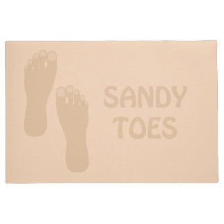 Sandy Toes Beach House Door Mat