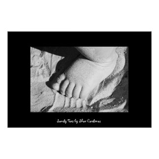 Sandy Toes Poster