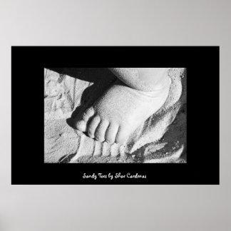 Sandy Toes Print