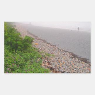 Sandy York Beach Rectangular Sticker