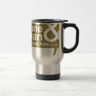 Sane Man Travel Mug/Water Bottle Stainless Steel Travel Mug