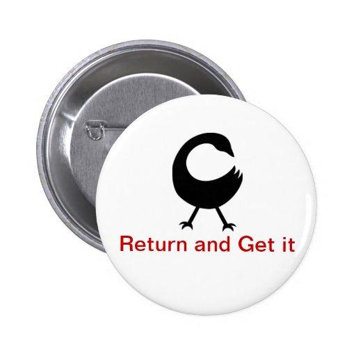 Sanfoka Symbol Pinback Button