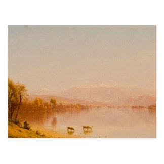 Sanford Robinson Gifford - Indian Summer Postcard