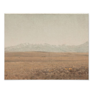 Sanford Robinson Gifford - Longs Peak, Colorado Photo