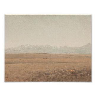 Sanford Robinson Gifford - Longs Peak, Colorado Photo Print