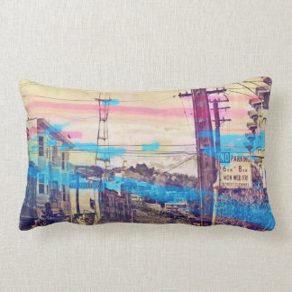 Sanfran-see-peaks mission district san francisco throw pillows