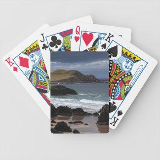 Sango Bay, Sutherland, Scotland Bicycle Playing Cards