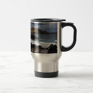 Sango Bay, Sutherland, Scotland Travel Mug