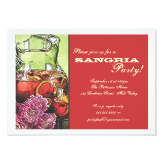 Sangria Party Invitation