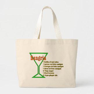 Sangria Jumbo Tote Bag
