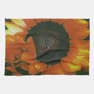 Sanguine Sunflower Kitchen Towel